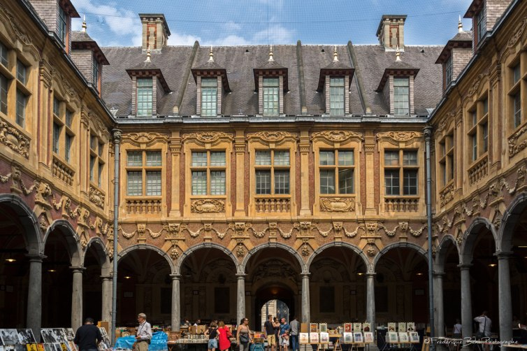 La vieille Bourse de Lille, sur la Grand'place